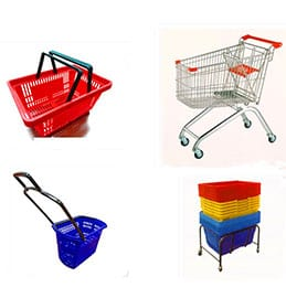 Baskets & Trolleys