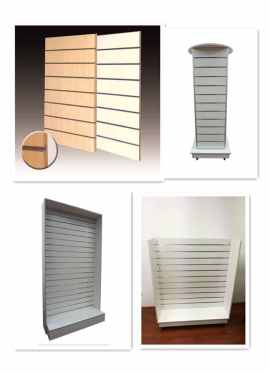 Slat Panel Shelving