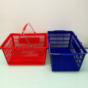 Metal handle shopping Basket