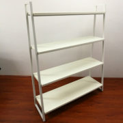 4-Level Pyramid Display Shelving