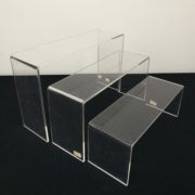 3 Piece Acrylic Display Set