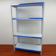 Single Side Grocery Shelving