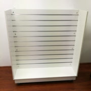 DoubleSideSlat Wall 'H' Shape Shelf