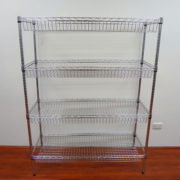 4-Level Horizontal Shelving Basket