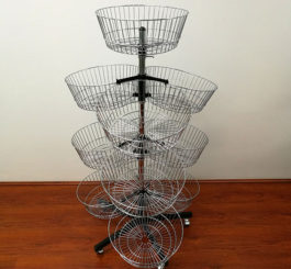Spinning & Baskets stands SPI 009B