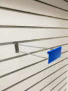 Double Line Slat Wall Hook