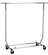 Clothing Rack Single Bar